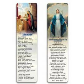 Zakładka do książki - Akt osobistego oddania się Matce Bożej