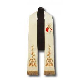 Stuła kapłańska Papież Jan Paweł II (216)