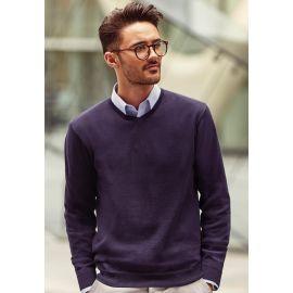 Sweter męski v-neck