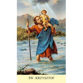 Obrazek ze Św. Krzysztofem