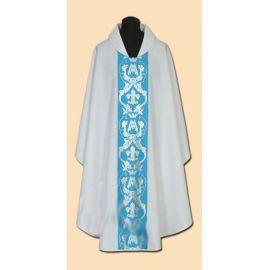 Ornat Maryjny haftowany (18A)