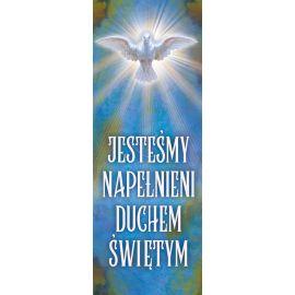 Baner - Jesteśmy napełnieni Duchem Świętym