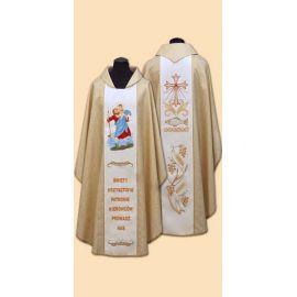 Ornat z wizerunkiem św. Krzysztofa