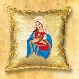 Poduszka na procesję Serce Maryi