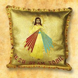 Poduszka na procesję Jezu Ufam Tobie