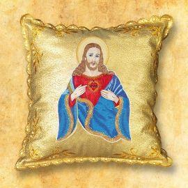 Poduszka na procesję - Serce Jezusa
