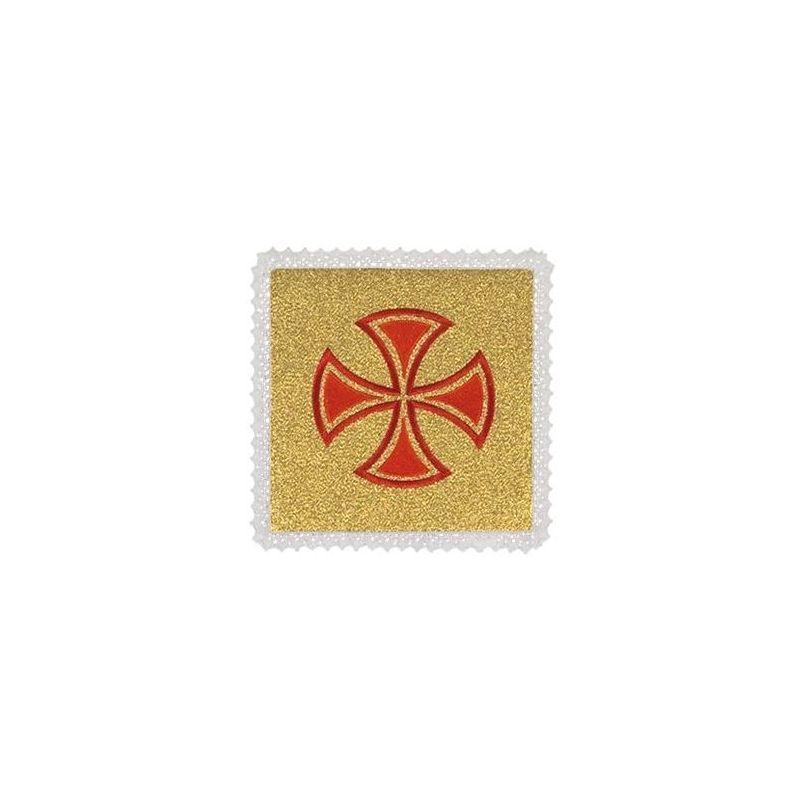 Palka złota krzyż