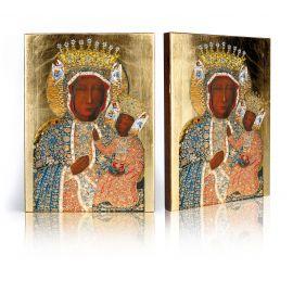 Ikona Matka Boska Częstochowska w koronie Klementyńskiej