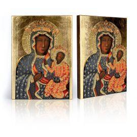 Ikona Matka Boska Częstochowska w sukni milenijnej