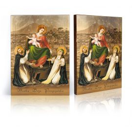 Ikona Matka Boża Pompejańska (2)