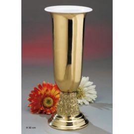 Zdobiony wazon ołtarzowy na kwiaty -  30 cm