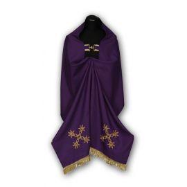 Welon haftowany fiolet