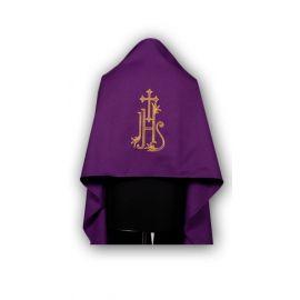 Welon haftowany fiolet IHS