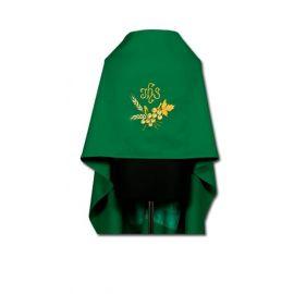 Welon haftowany zielony IHS
