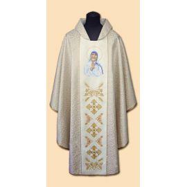 Ornat haftowany św. Teresa z Kalkuty