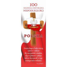 Baner 100-lecie odzyskania niepodległości przez Polskę