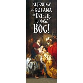 Baner Bożonarodzeniowy - Klęknijmy na kolana