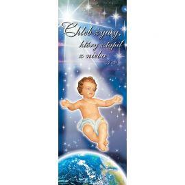 Baner Bożonarodzeniowy - Dzieciątko Jezus (4)