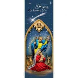 Baner Bożonarodzeniowy - Święta Rodzina (2)