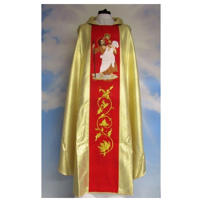 Ornat złoty św. Krzysztof