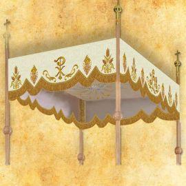 Baldachim haftowany na procesję (4)