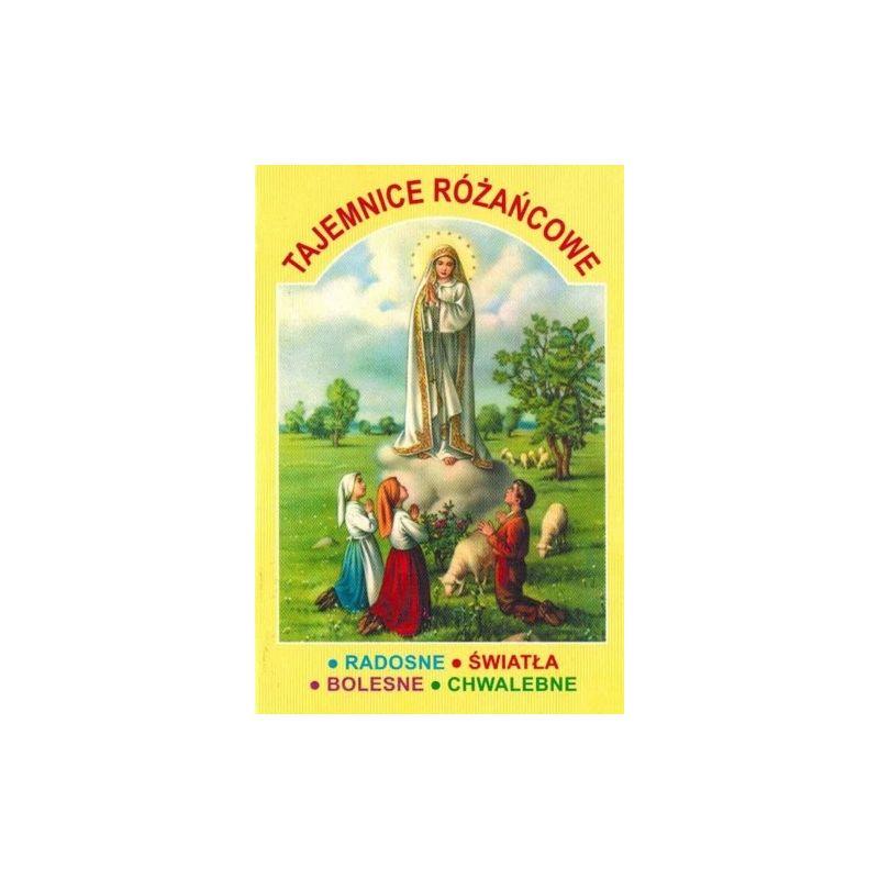 Tajemnice Różańcowe - książeczka z rozważaniami