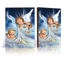Ikona Anioł Stróż pod kołderką (36)