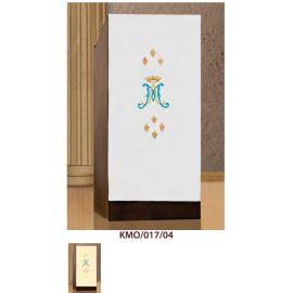 Lektorium/welon haftowany na ambonkę Maryjny- (17)