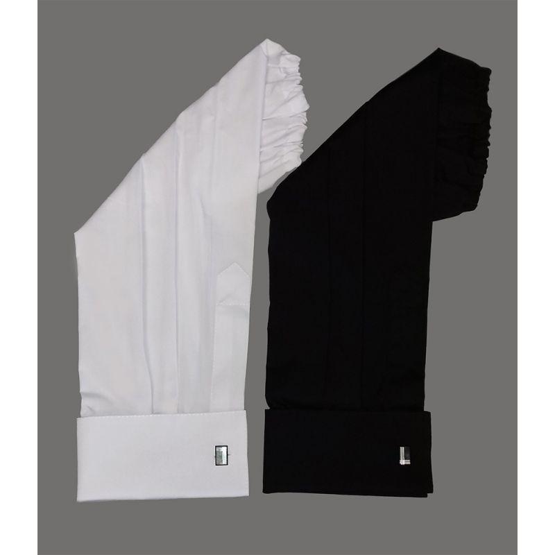 Rękawki kolor czarny/biały