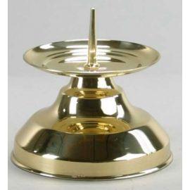 Lichtarz mosiężny - 9 cm (1)