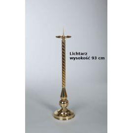 Lichtarz paschalny, mosiężny - 93 cm (15)