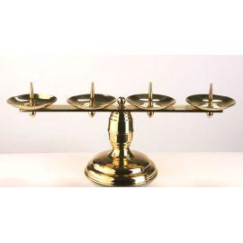 Lichtarz mosiężny - 19 cm (17)