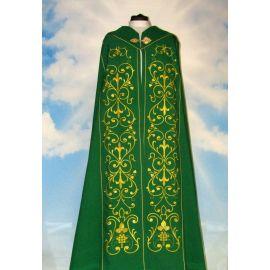 Kapa haftowana zielona - ornament (4)