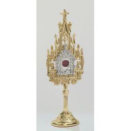 Relikwiarz złocony - 22,5 cm
