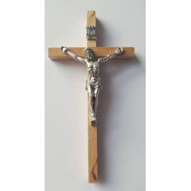 Krzyż drewniany - jasny 13x7 cm