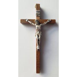 Krzyż drewniany - ciemny 13x7 cm