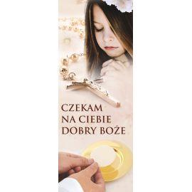 """Baner I Komunia Święta - Czekam na Ciebie"""" (2)"""