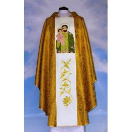 Ornat z wizerunkiem św. Józefa (brokat)