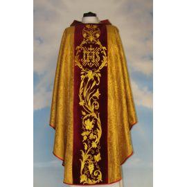 Ornat rozeta Anioły - pas aksamit haftowany (5)