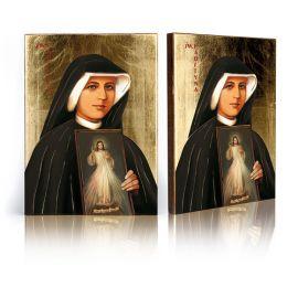 Ikona Św. Faustyna Jezus Miłosierny