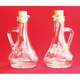 Komplet ampułek- szkło hartowane -  wino/woda