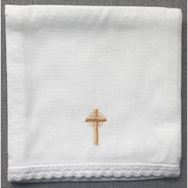 Korporał krzyż złoty - 100 % bawełna
