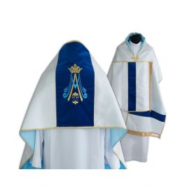Welon liturgiczny Maryjny haftowany (12)