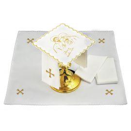 Bielizna kielichowa Boże Narodzenie - haft