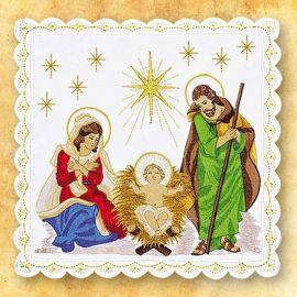 Palka haftowana Boże Narodzenie