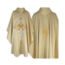 Ornat gotycki - Ukrzyżowanie Jezusa (23)