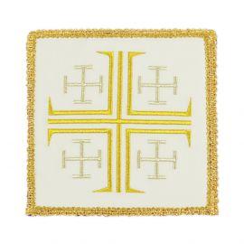 Palka haftowana - Krzyż Jerozolimski