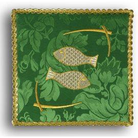 Palka haftowana zielona - Ryby