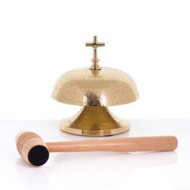 Gong mosiężny - 19 cm