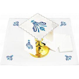 Bielizna kielichowa wzór Maryjny - haft (144)